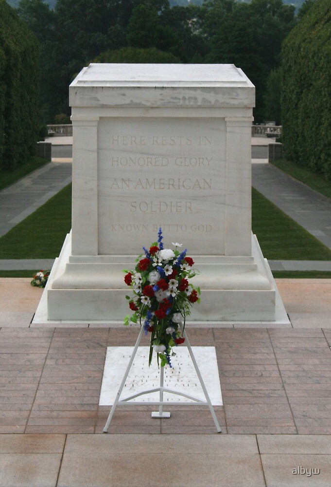 Known But To God - RIP Arlington Cemetery DC by albyw