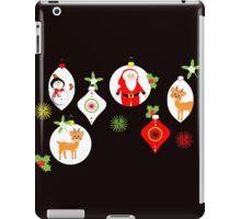 Cute Santa Snowmen Reindeer Baubles Festive iPad Case/Skin