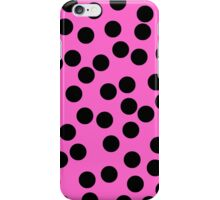 Dotty Pink iPhone Case/Skin