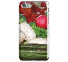 Veggies for the Super Bowl Party..... iPhone Case/Skin