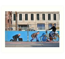 On your bike! Art Print