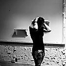 Thinking... Think.....Self Portrait- Abandoned Asylum, NY by MJD Photography  Portraits and Abandoned Ruins