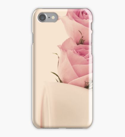 Coffee and Roses  iPhone Case/Skin
