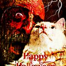 Happy Halloween - Greeting card by Scott Mitchell