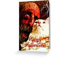Happy Halloween - Greeting card Greeting Card