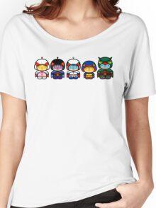 Chibi-Fi Gatchaman Women's Relaxed Fit T-Shirt