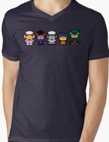Chibi-Fi Gatchaman Mens V-Neck T-Shirt