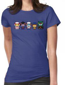 Chibi-Fi Gatchaman Womens Fitted T-Shirt