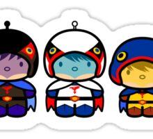 Chibi-Fi Gatchaman Sticker