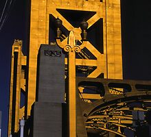 Tower Bridge, Sacramento by Rodney Johnson
