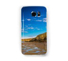 Porthowan Cliffs. Samsung Galaxy Case/Skin