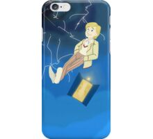 5th Doctor in th Time Vortex iPhone Case/Skin
