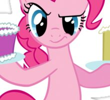 Pinkie Pie assaults with cake (My Little Pony: Friendship is Magic) Sticker