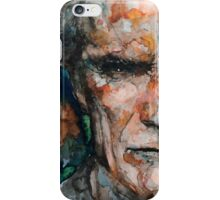 Clint Eastwood 2 iPhone Case/Skin
