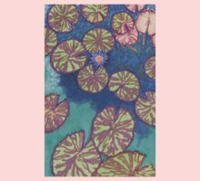 large lily pads One Piece - Short Sleeve