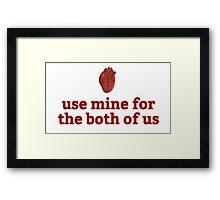 """""""Mine"""" Framed Print"""