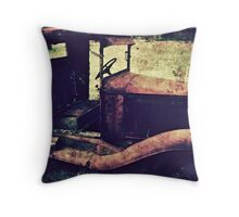 Time Worn Throw Pillow