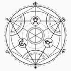 Fullmetal Alchemist - Transmutation (Black) by Andaimaru