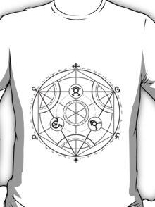 Fullmetal Alchemist - Transmutation (Black) T-Shirt