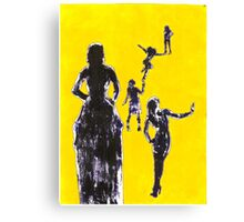 Girls Girls Girls Canvas Print