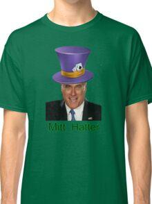 Mitt Romney 2012 mad Hatter Classic T-Shirt