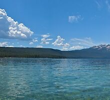 Redfish Lake Panoramic by carmstrong