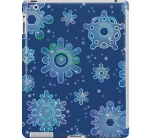 Seamless pattern for Christmas on blue background iPad Case/Skin