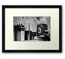 Bitter Wept Tears- Selft Portrait- Abandoned Asylum, NY Framed Print