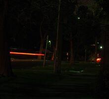 Street lights on Speed by Thomayne