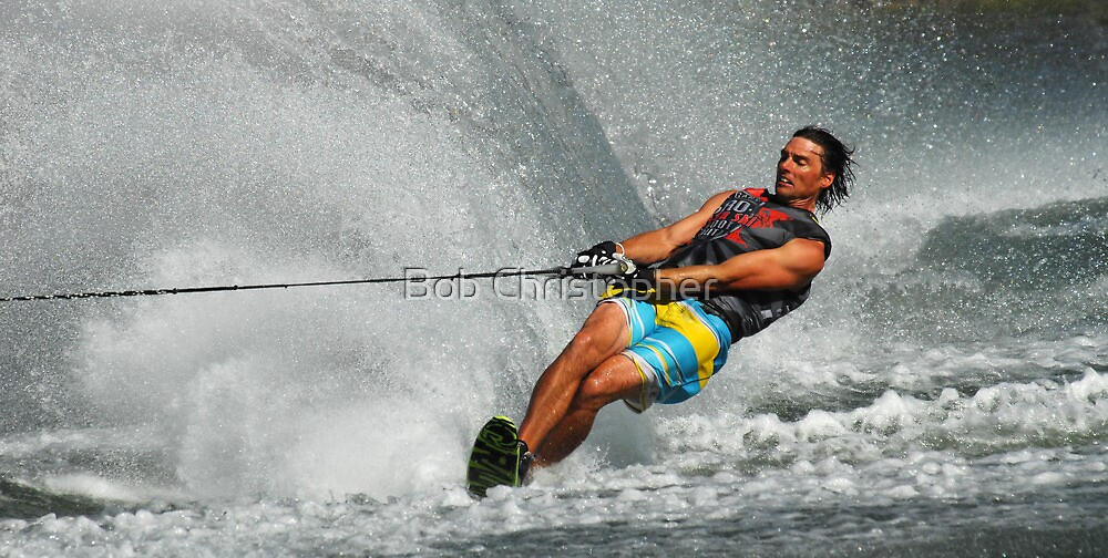 Water Skiing  Magic of Water 4 by Bob Christopher