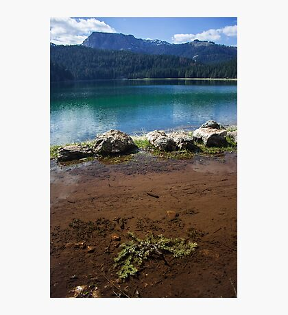 Double lake Photographic Print