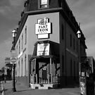 The Flat Iron Grill, Barrie , Ontario, Canada by Max Buchheit