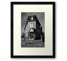 The Flat Iron Grill, Barrie , Ontario, Canada Framed Print