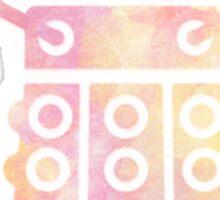 dalek pastel version Sticker