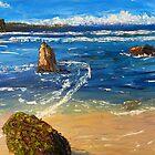 Kiama Beach  by PamelaMeredith