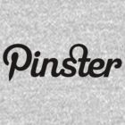 Pinster - Black by TweetTees