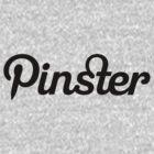 Pinster - Black by TweetTees