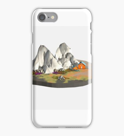 Landscape Low Poly iPhone Case/Skin