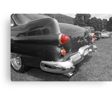 Red Hot Tail Lights Metal Print