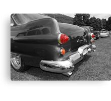 Red Hot Tail Lights Canvas Print