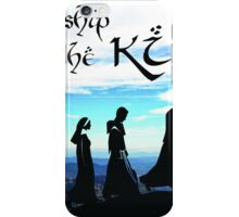 Fellowship of the King ~ 1 Corinthians 1:9 iPhone Case/Skin