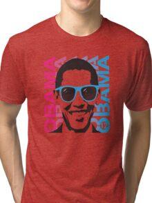 Cool Obama 2012 Women's T Shirt Tri-blend T-Shirt