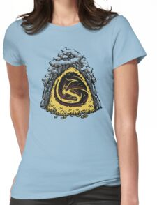 Within the Lonely Mountain Womens Fitted T-Shirt