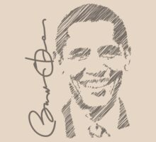 Obama Sketch 2012 Women's Shirt by ObamaShirt