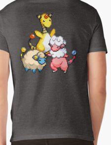 Mareep Evolutions Mens V-Neck T-Shirt