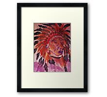 The Chief, watercolor Framed Print