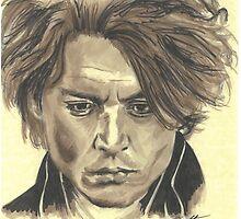 Johnny Depp - Ichabod Crane by Tony Heath