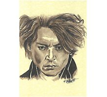 Johnny Depp - Ichabod Crane Photographic Print