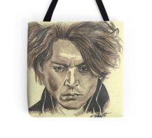Johnny Depp - Ichabod Crane Tote Bag