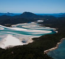 Whitehaven Beach # 112 - Whitsunday Island by Ivan Kemp